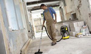 Уборка помещения после проведения ремонтных работ