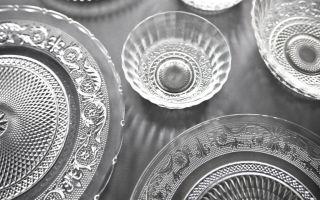 Посуда из стекла: нестареющая классика